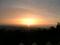 二上山からの夕陽