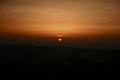 [山][夕日]二上山からの夕陽