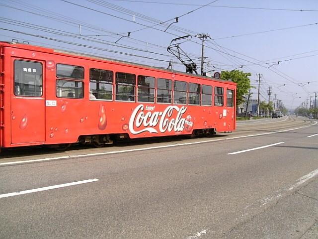 高岡市付近の路面電車