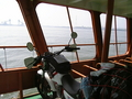 [船][バイク]富山新港を渡船で渡る