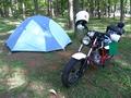 [キャンプ][バイク]美山キャンプ場