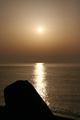 [海][夕日]糸魚川の夕陽