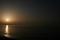 糸魚川の夕陽