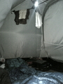 [キャンプ]テント内