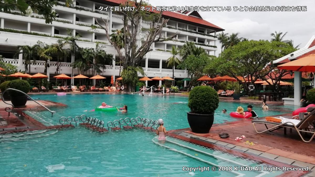 アナンタラ バンコクリバーサイド 宿泊レビュー その2 ~K-DAD タイで買い付け、ネット販売で約10年生計を立てている ひとり会社社長のお役立ち情報