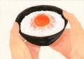 食べ物_卵かけご飯_林けいか