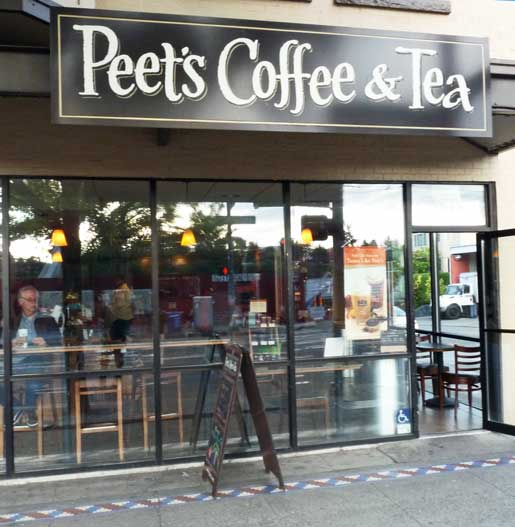 1966年にカルフォルニア州バークレーにアルフレッド・ピート氏が創業した「Peet's Coffee & Tea」という店