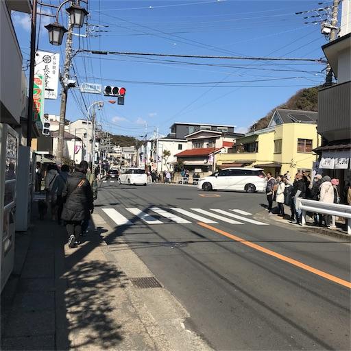 長谷駅から高徳院へ向かうメインストリート