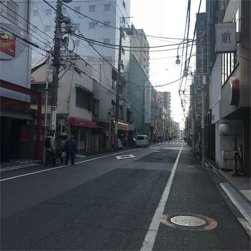 三崎町の商店街
