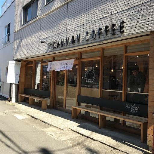 KANNON COFFEE kamakuraの外観