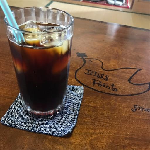 ハンドドリップによる急冷式アイスコーヒー