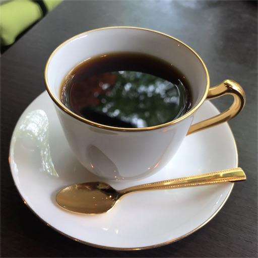 蔦珈琲店の        ネルドリップで淹れたホットコーヒー