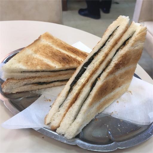 元祖「のりトースト」