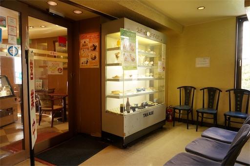 洋菓子店タカセの2階の喫茶室