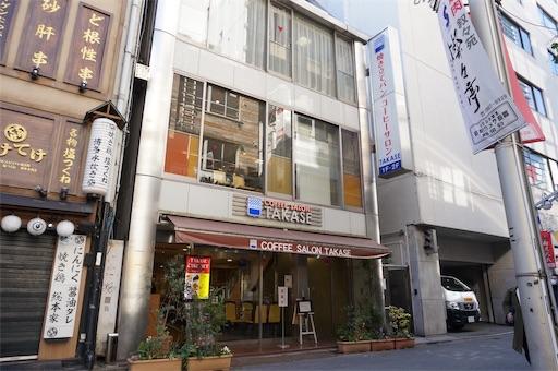 洋菓子店タカセの別館にあるベーカリーカフェ
