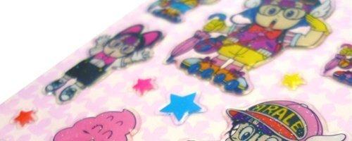 ドクタースランプ《アラレちゃん/ウンチくん》ぷっくりシール☆キャラクターグッズ(手帳デコステッカー)通販☆【ウンチくん】