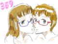 [haheratter]2012年だから2012枚のめがねっ娘の絵を描くよ