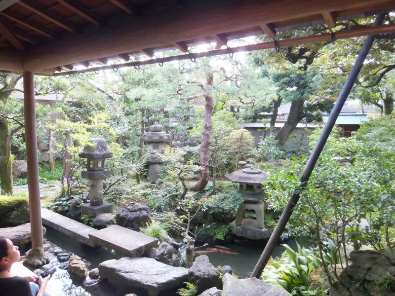 金沢市の武家屋敷の一つ・野村家庭園