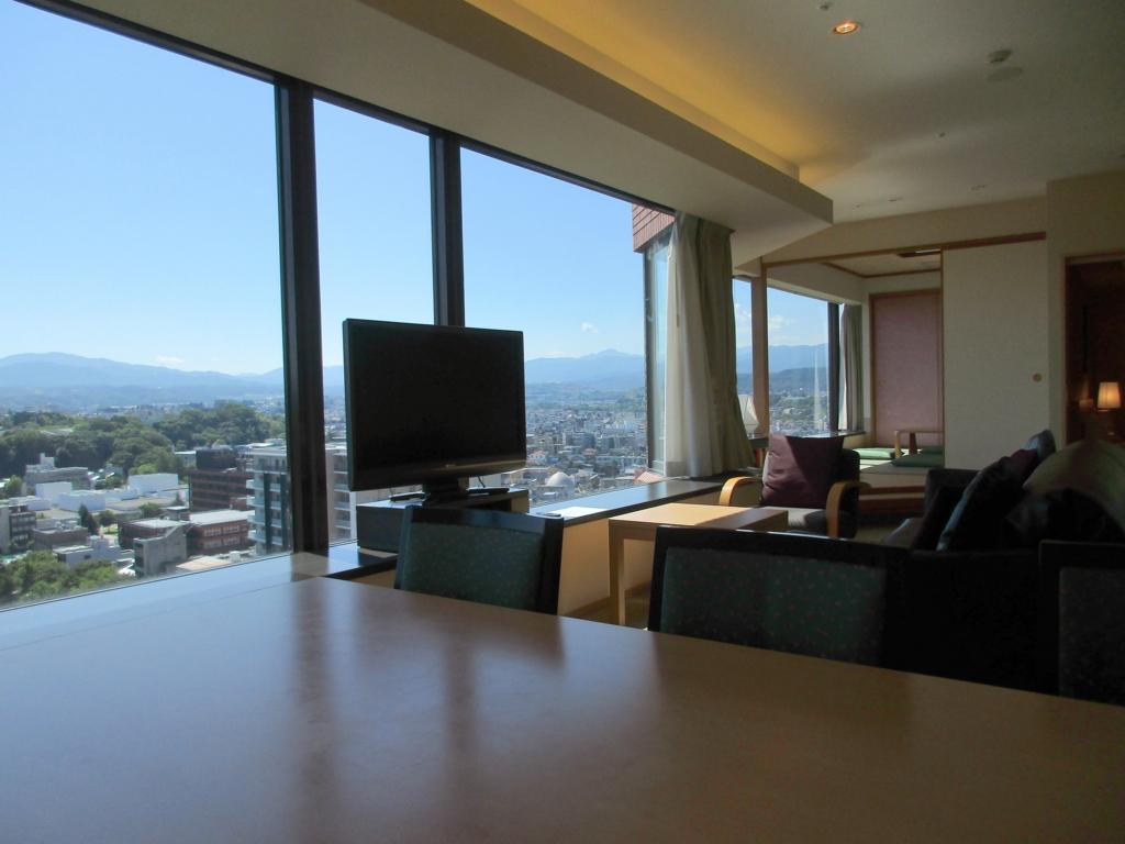 キッチン付きホテル・BigWeek金沢からの眺め