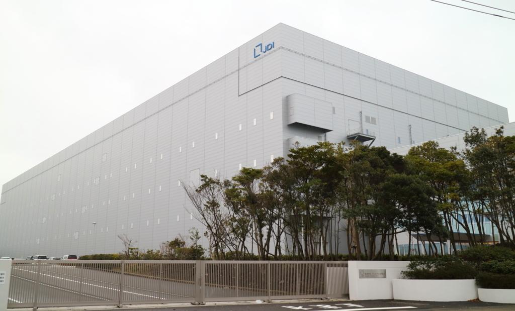 ジャパンディスプレイ白山工場(金沢駅から車で30分)