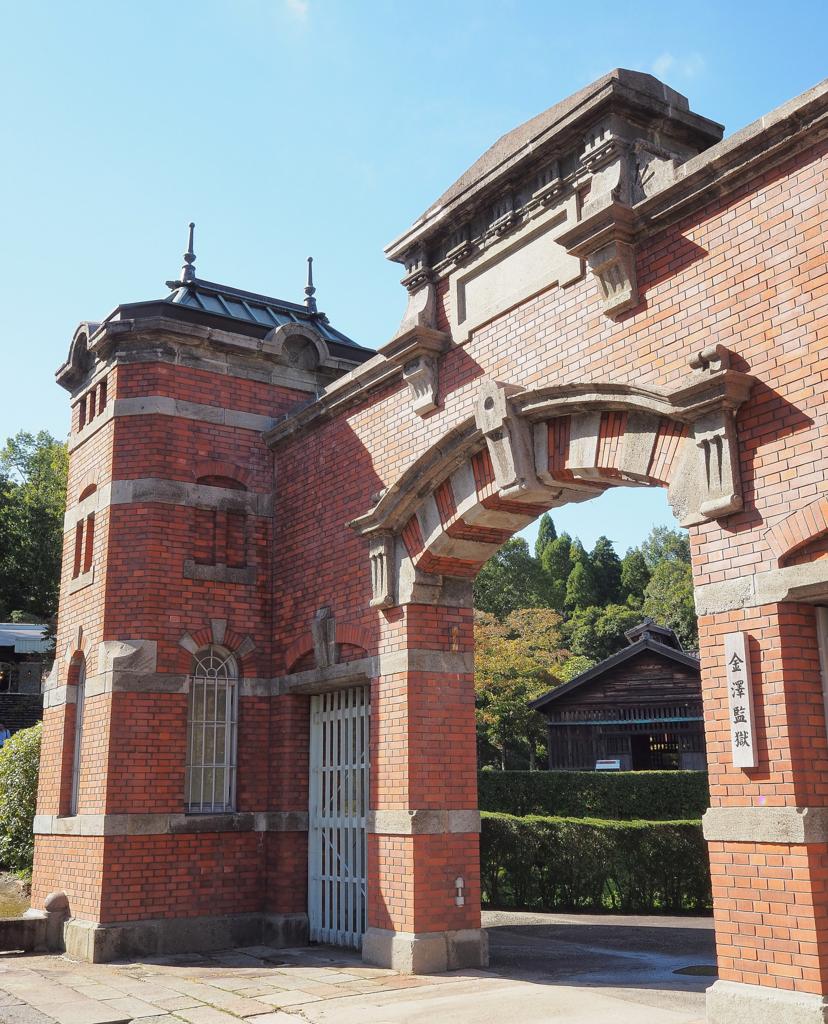 金沢監獄正門の装飾(明治村・愛知県犬山市)