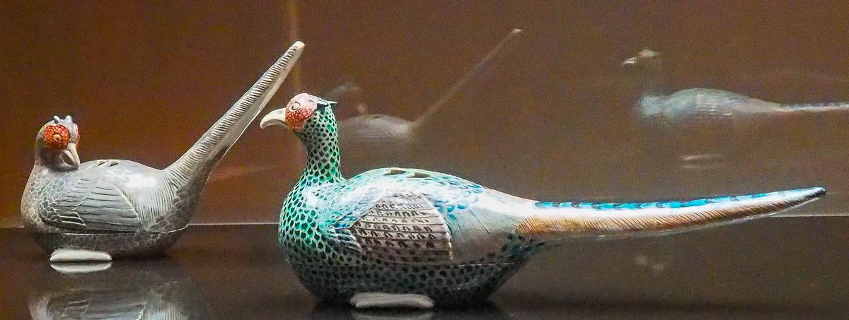 野々村仁清、色絵雉香炉、国宝、石川県立美術館所蔵