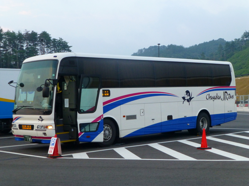 松江・出雲~北九州・福岡「出雲路号」(一畑バス・中国JRバス ...