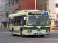 京都市バス2991/いすゞエルガ(QKG-LV234L3・2015)