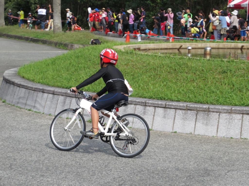 ロードバイク 子供 トライアスロン大会