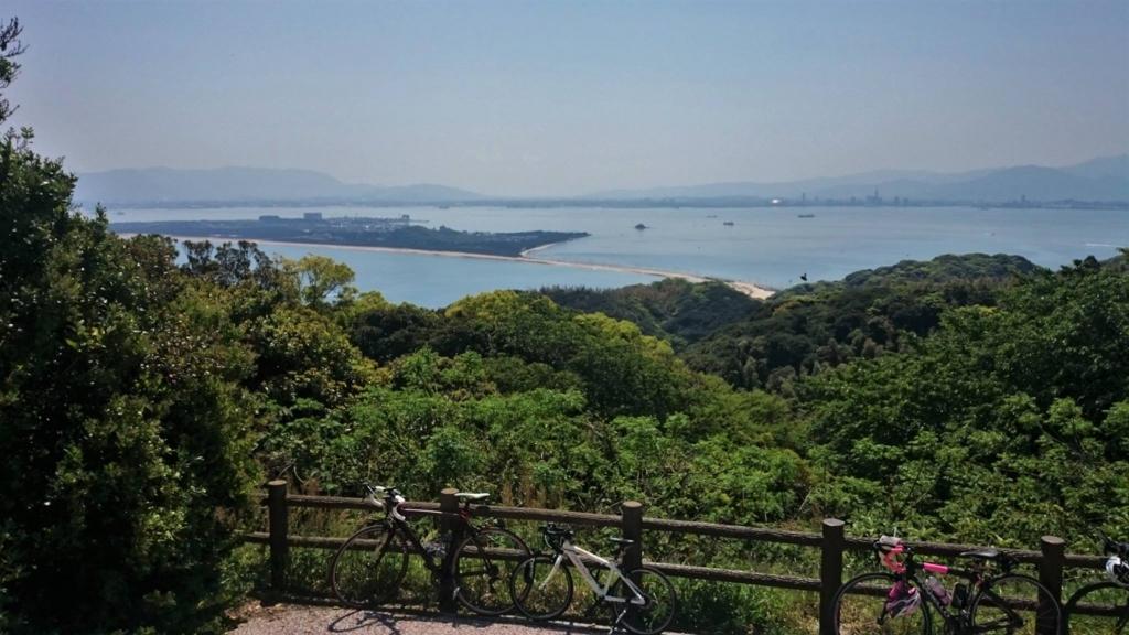 志賀島 汐見公園 ヒルクライム サイクリング