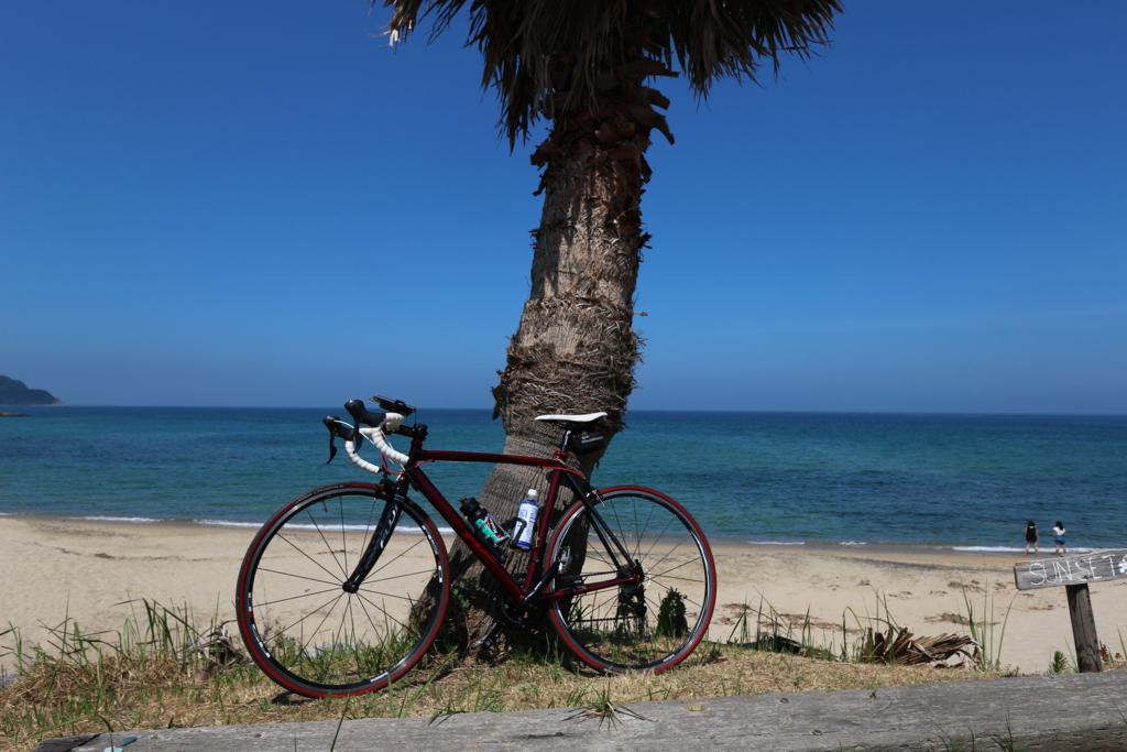 糸島 ロードバイク ポタリング 綺麗な海岸