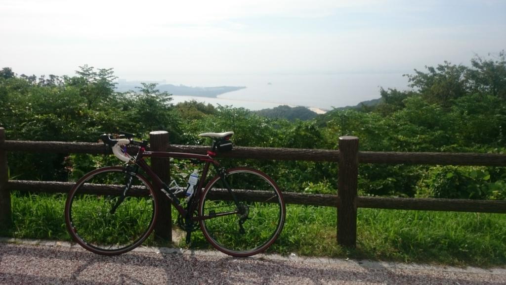 志賀島 潮見公園 ヒルクライム ロードバイク