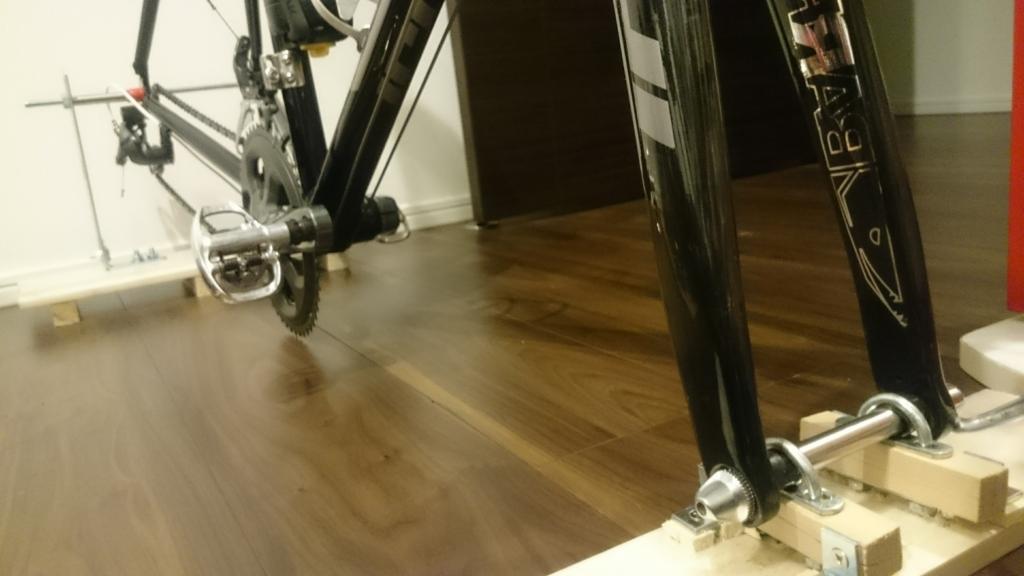ロードバイク 車載 DIY
