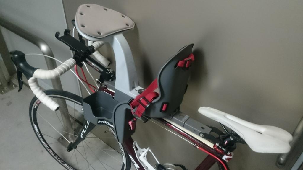 Weeride ウィライド カンガルーキャリア ロードバイク 取付