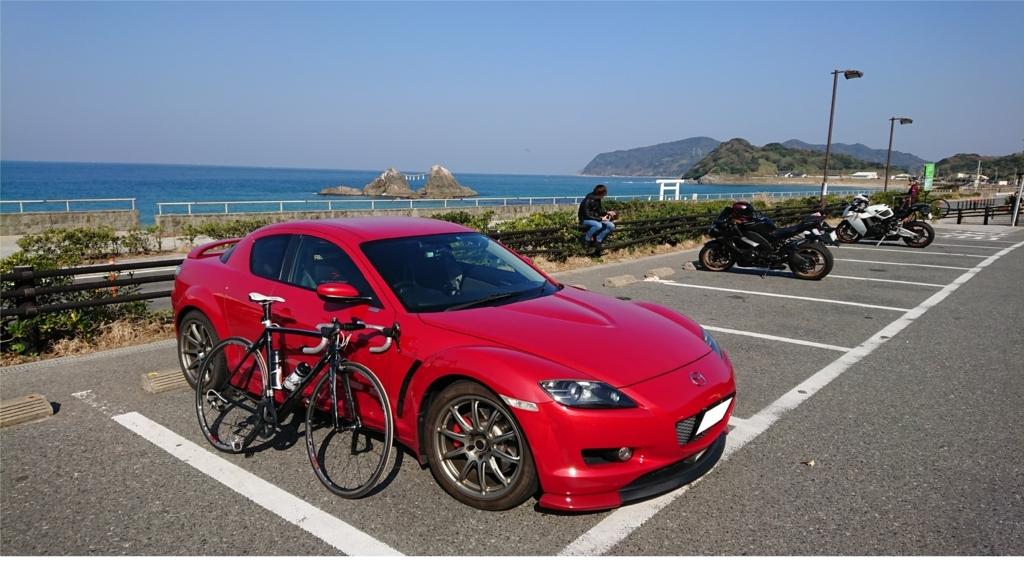 糸島 ロードバイク ポタリング RX-8