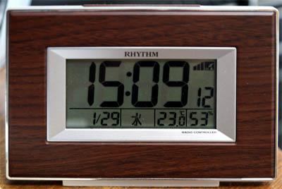 1月上旬とは思えないほど上昇した室内の気温は23℃!
