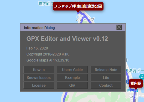 GPX Editor and Viewer v0.12