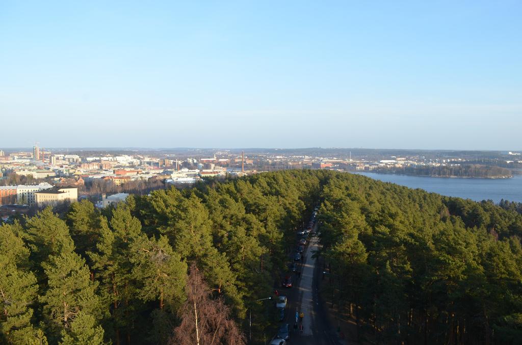 プーニッキ展望タワーからの眺め