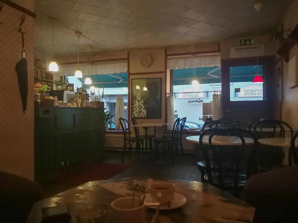 ワッフルカフェ店内の雰囲気