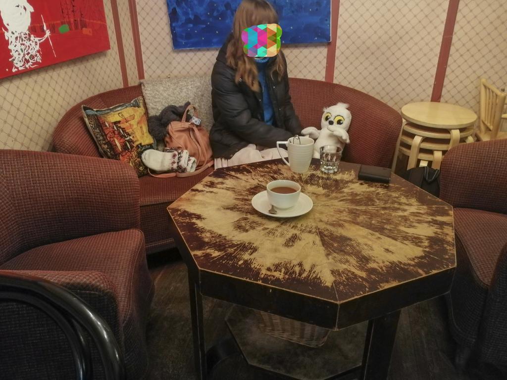 Vohveli kahvilaで1番広い席