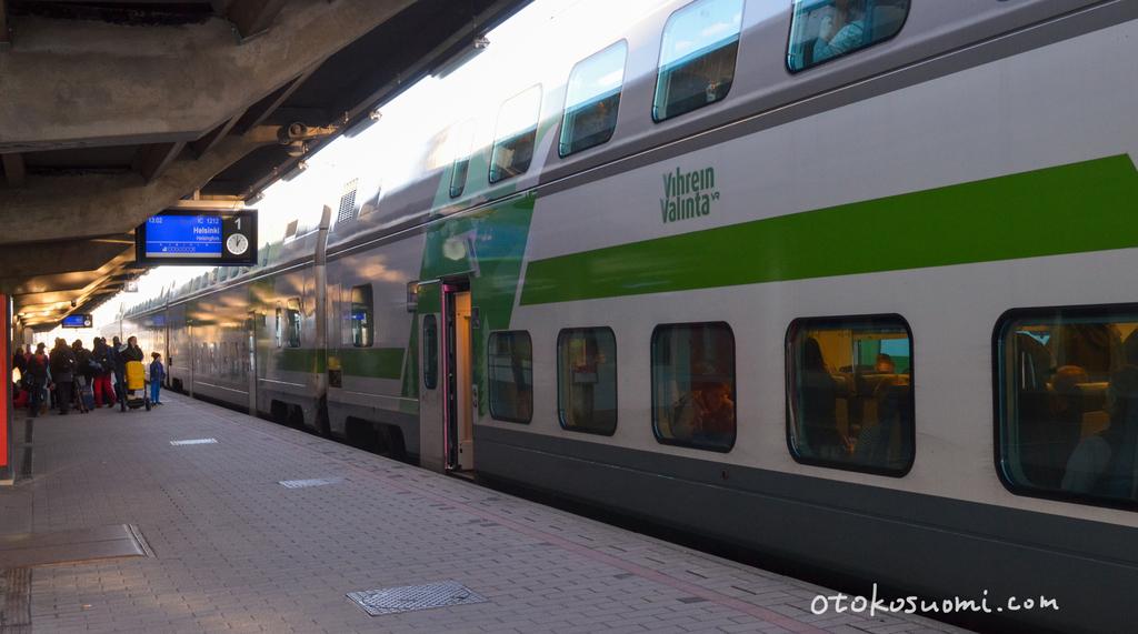 フィンランドの鉄道会社VRの車両