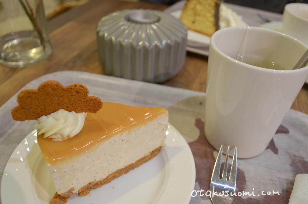 Cafe Nostalgiaのケーキ