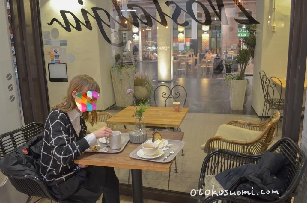Cafe Nostalgia店内