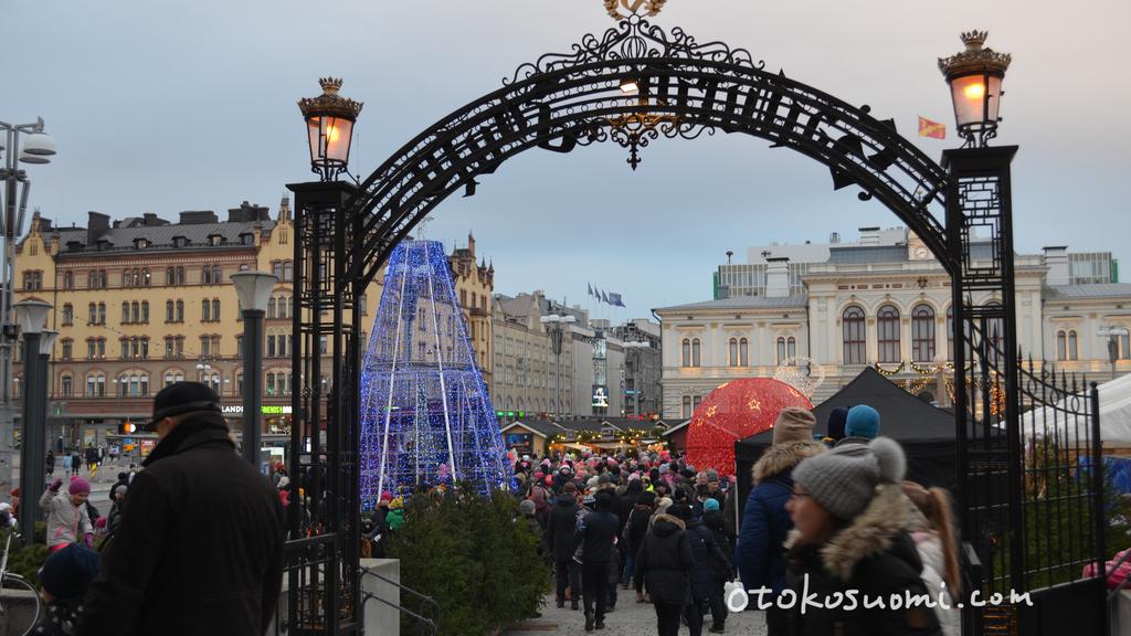 タンペレのクリスマスマーケット