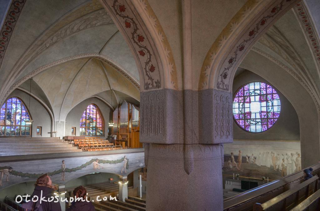 タンペレ大聖堂内部