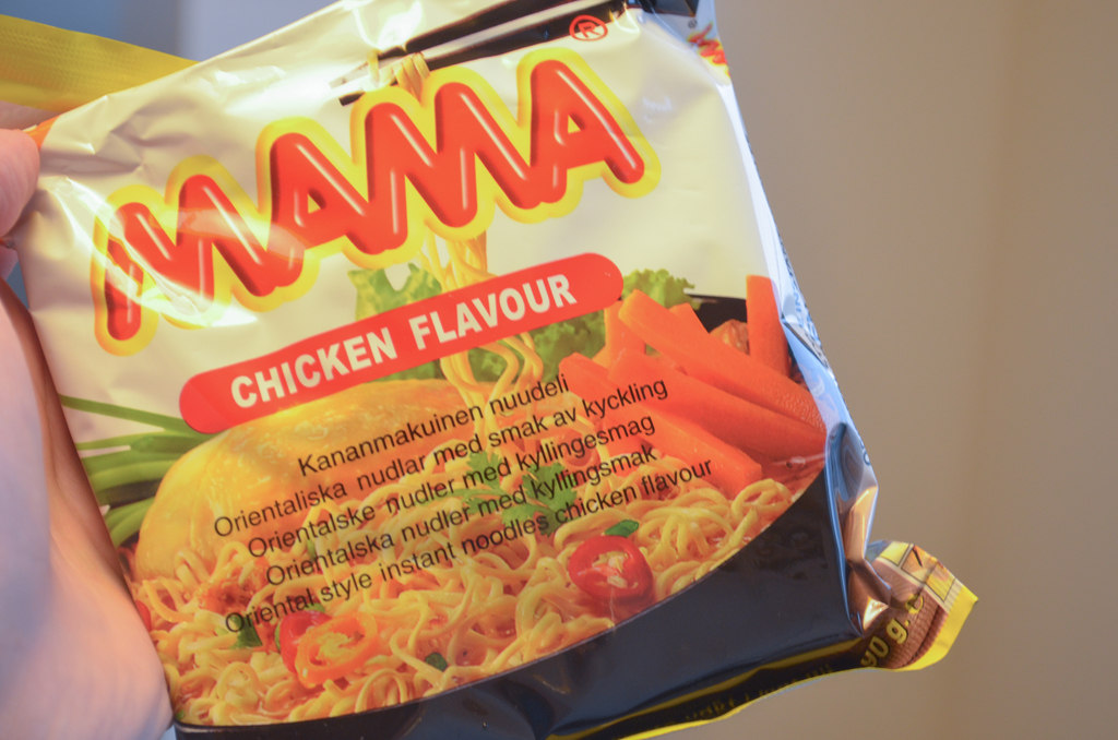 MAMA チキン味
