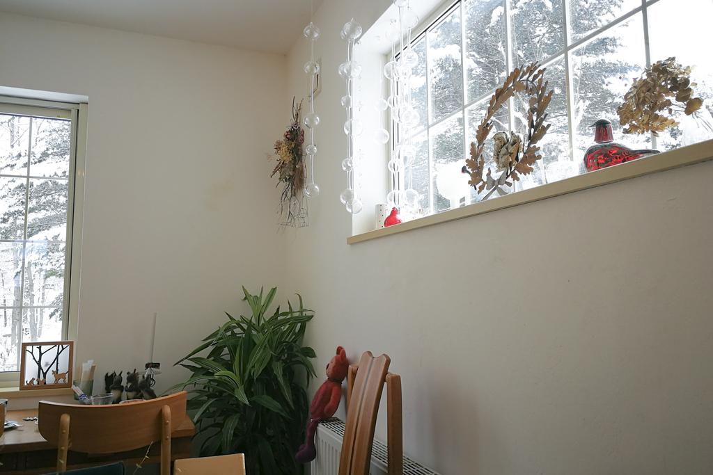 Momo cafeの店内