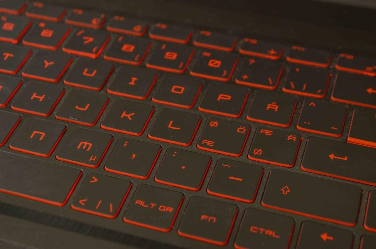 フィンランド語配列のキーボード