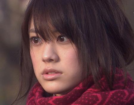 びっくりした表情の福田沙紀