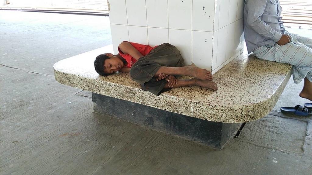 貧しい国の子どもたちの生活